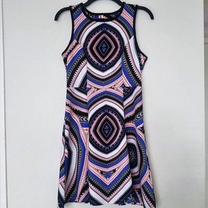 Sequin Hearts Sleeveless Dress Size; M